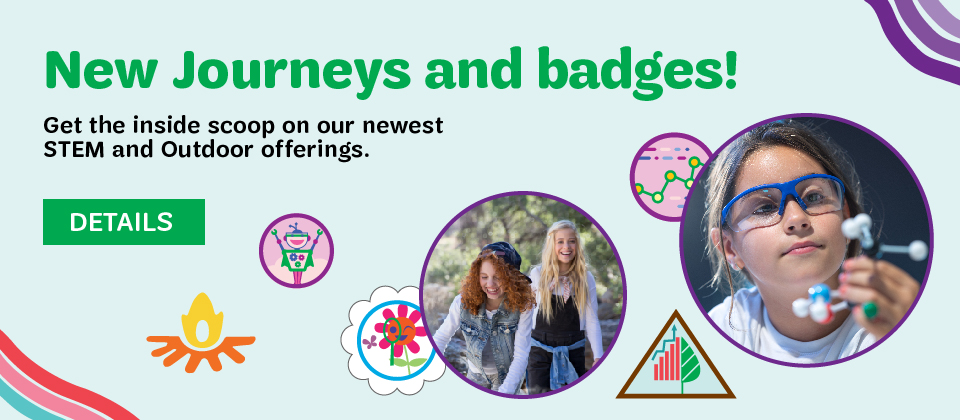New STEM Journeys and Badges