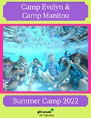 Camp Evelyn and Camp Manitou Summer 2018 Catalog